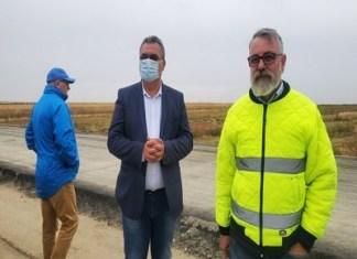 Prefectul județului Dolj, Nicușor Roșca, a inspectat astăzi șantierul drumului expres pe Tronsonul I.