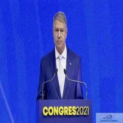 Congres PNL Septembrie 2021 : Discursul integral al lui Klaus Iohannis