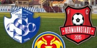 Meci pentru ISTORIE ! ACSO Filiasi intalneste FC Hermannstadt in optimile Cupei Romaniei