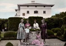 Principesa Sibylla de Saxa-Coburg-Gotha & copiii sai. Palatul Solliden. Colectia Diana Mandache