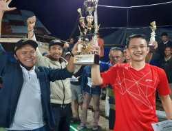 Semi Final Turnamen Bulutangkis Nagasuta Cup 2020, Dibanjiri Penonton