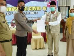Kabupaten Lima Puluh Kota Melaksanakan Pemberian Vaksinasi covid-19 Dosis Kedua (Boste)