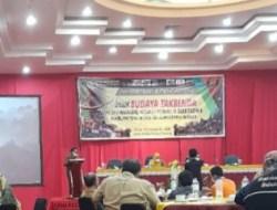 Tim Dikbud Tanah Datar Ikuti Workshop Pendataan& Pencatatan WBTB