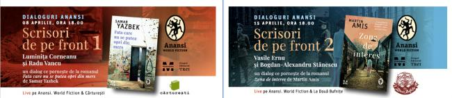 Dialogues about literature and war inspired by novels translated in the ANANSI collection