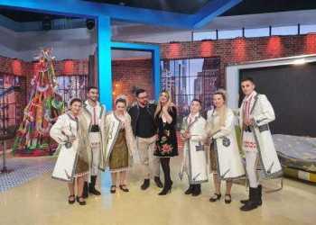 """Artiștii Casei de Cultură """"Adriana Trandafir"""" din Bascov, în emisiunea lui Măruță 2"""