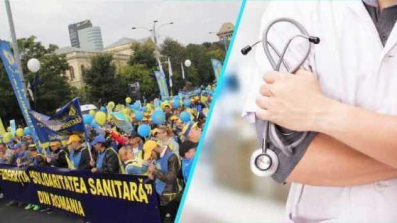 """""""Solidaritatea Sanitară"""" organizează noi proteste 2"""