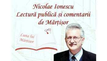 """De mărțișor, """"Domnii citesc poezie"""", la Biblioteca Județeană Argeș 2"""