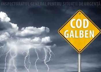 Cod galben de vânt puternic și ninsori pentru județul Argeș 3