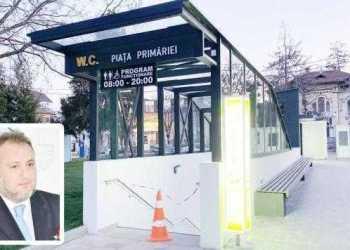 Revenim la cazul WC-ului smart amplasat lângă Galeria de Artă 3