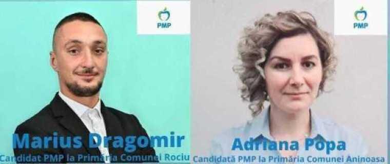 PMP își lansează candidații la funcția de primar pentru comunele Aninoasa și Rociu 1