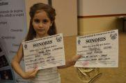 Iancu Marina și premiile ei: pentru interpretare și trofeul grupei anului II, de studiu