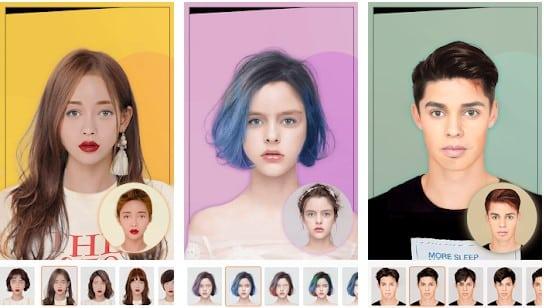 Aplikasi Rambut Gondrong - Hairstyle Try On