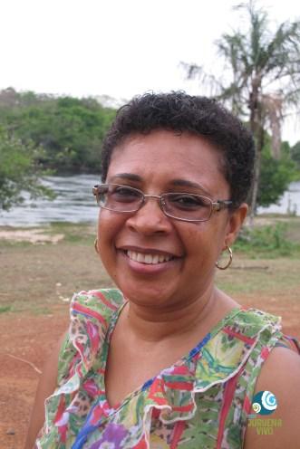 Professora Elani dos Anjos Lobato. Foto Andreia Fanzeres.