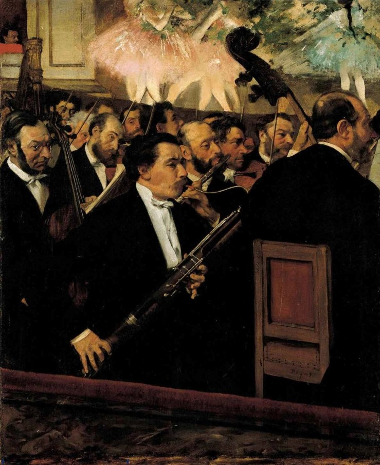 Orchestra of the Opera by Edgar Degas
