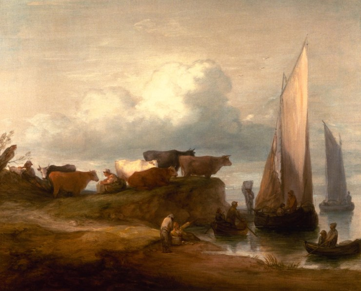 A Coastal Landscape by Thomas Gainsborough