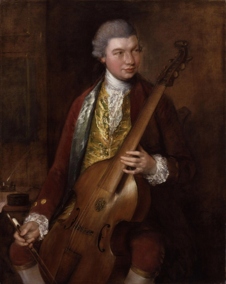 Carl Friedrich Abel by Thomas Gainsborough