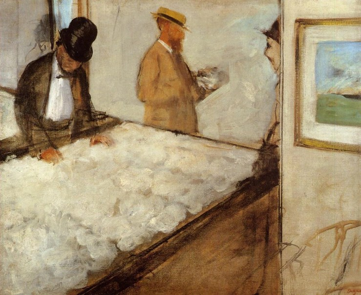 Cotton Merchant in New Orleans by Edgar Degas