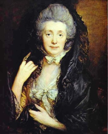 Nee Margaret Burr (Gainsborough's wife) by Thomas Gainsborough