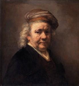 Rembrandt Self-Portrait 1669