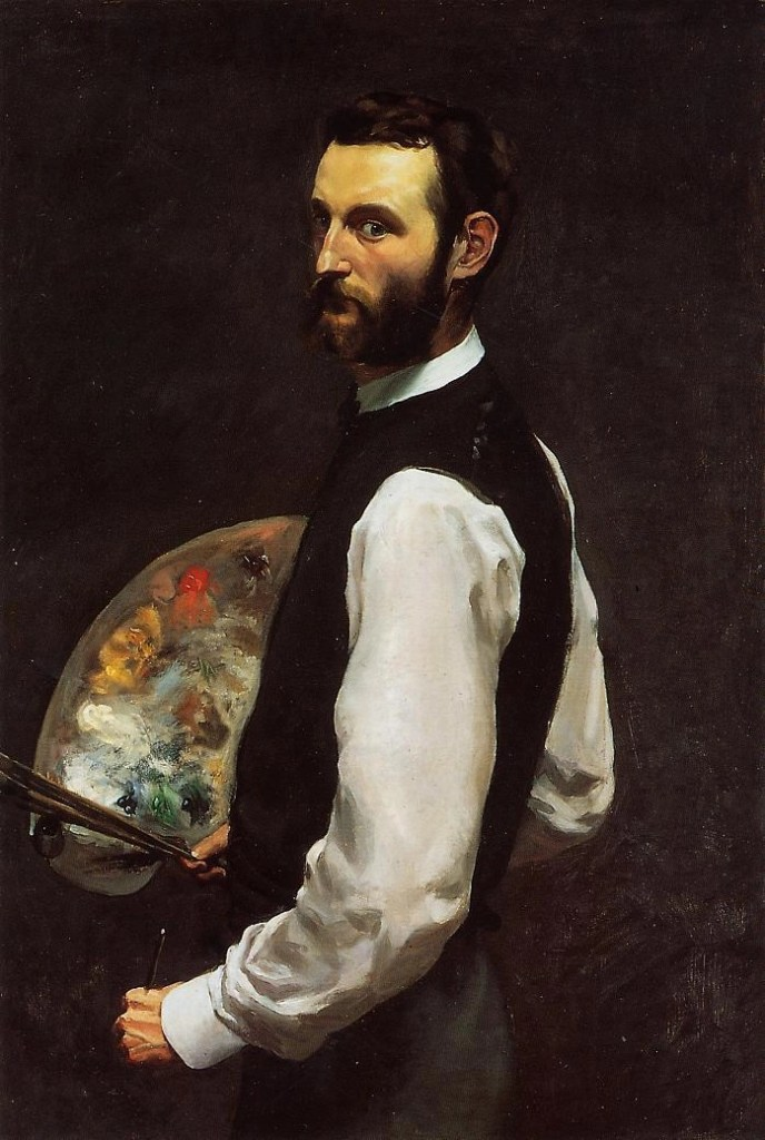 Self-Portrait by Frederic Bazille