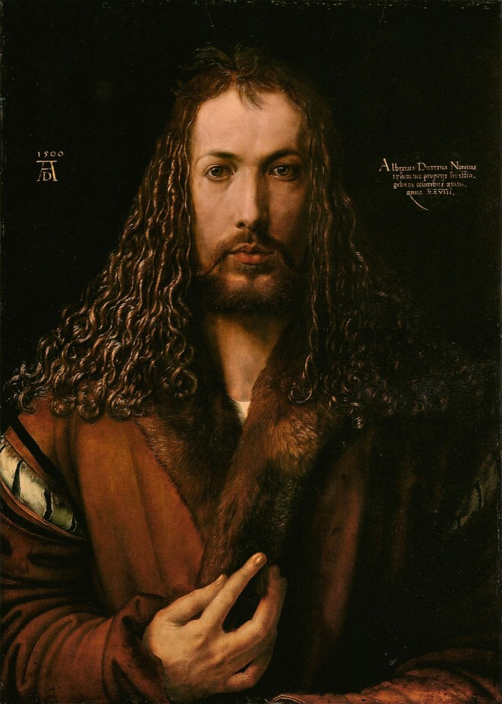 Self-Portrait at the Age of Twenty-Eight by Albrecht Durer