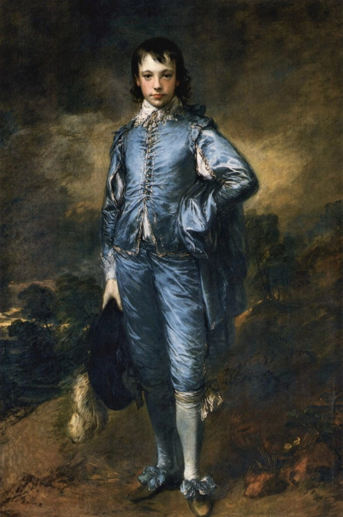 The Blue Boy by Thomas Gainsborough