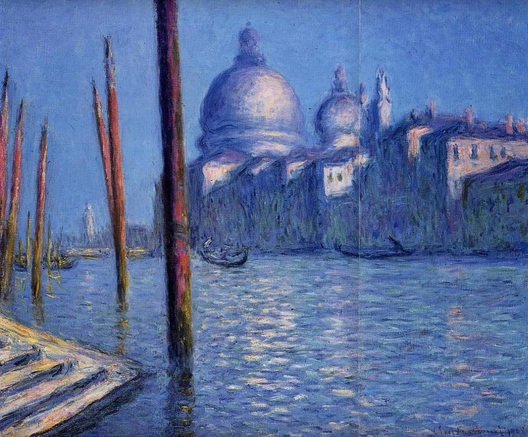 The Grand Canal by Claude Monet