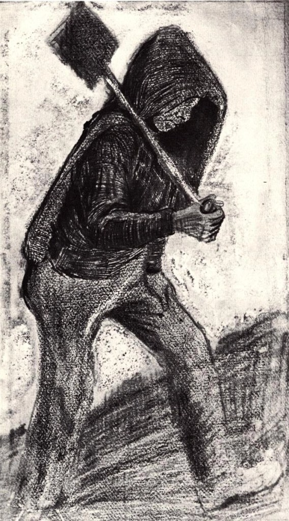 Coal Shoveler by Vincent van Gogh