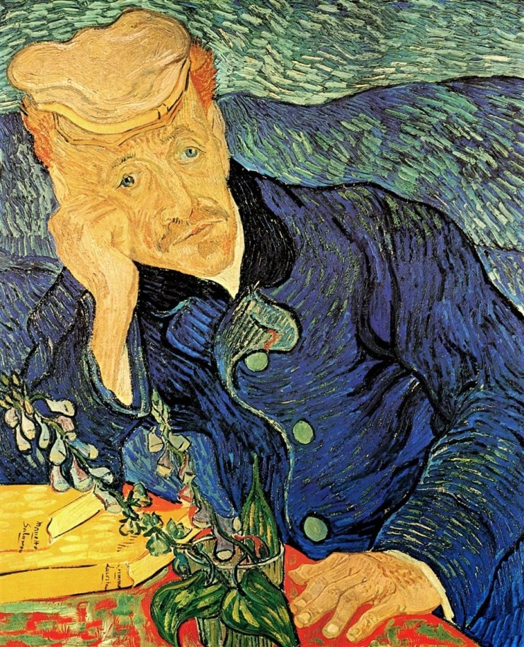 Dr. Paul Gachet by Vincent van Gogh