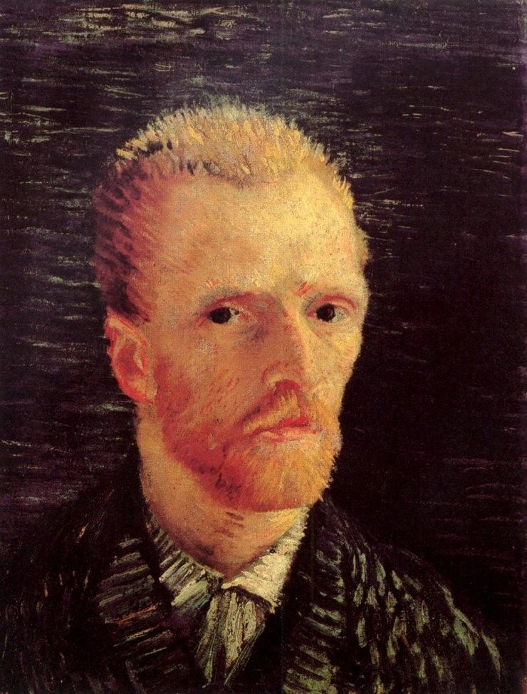 Self-Portrait 1887 2 by Vincent van Gogh