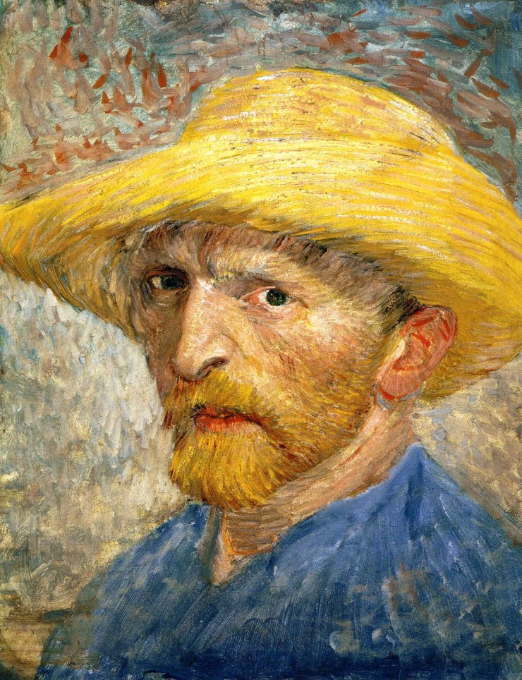 Self-Portrait 1887 by Vincent van Gogh