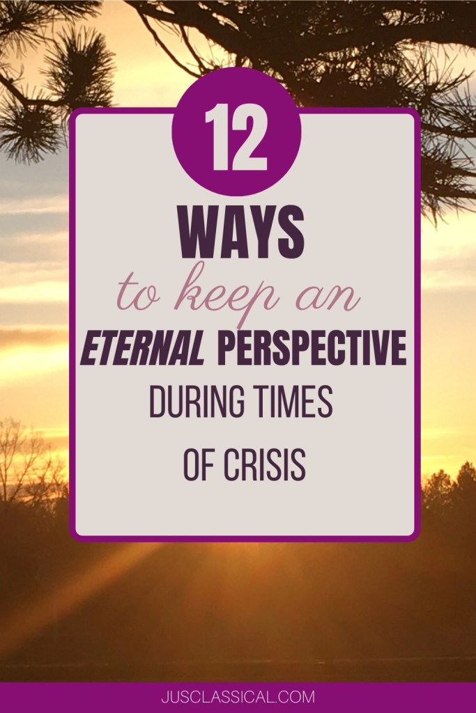 Eternal Perspective, Mindset in Trials, God-focused perspective