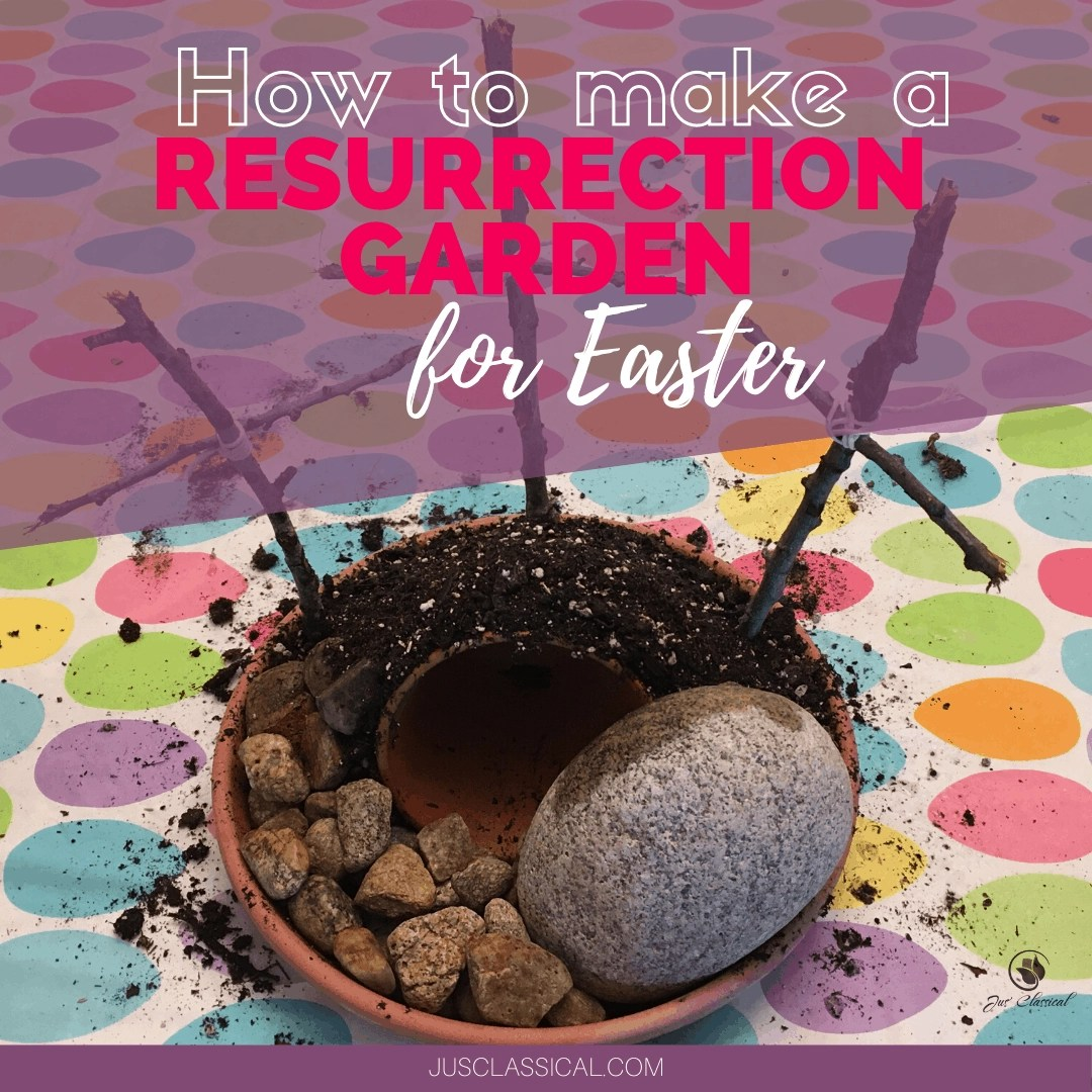 How to make a Resurrection Garden for Easter