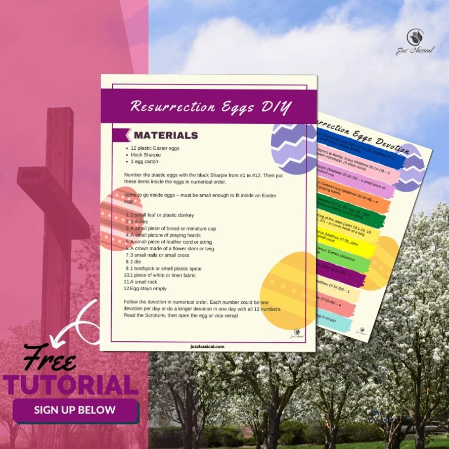 Opt-in for Resurrection Eggs DIY