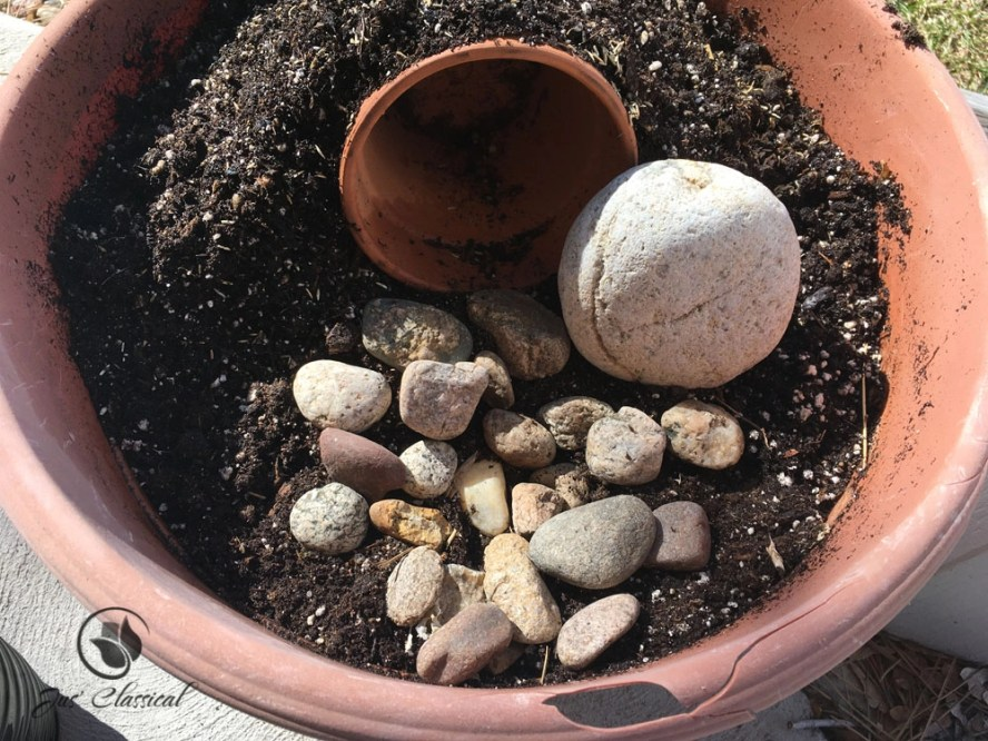 Resurrection garden - add rocks 2