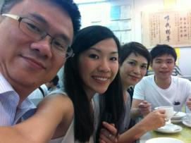 The Ki's foodie family