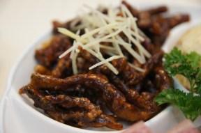 Crispy WuXi Eel on platter; Hong Kong Old Restaurant. Photo: edyeah