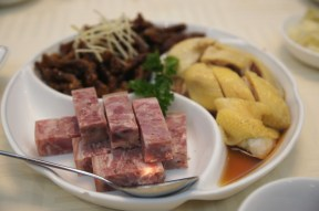 Pork Aspic and Drunken Chicken on platter; Hong Kong Old Restaurant. Photo: edyeah