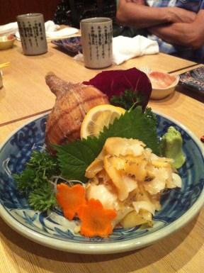 Conch Sashimi; Hakkaisan