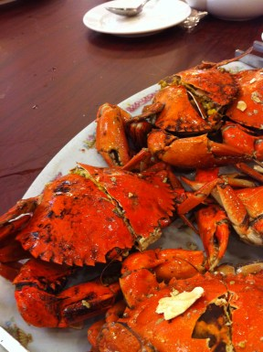 Very meaty, tasty crabs; Kam Lung, Lei Yue Mun