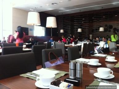 Ambience; Cafe at Hyatt Regency Shatin Hotel