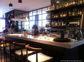 Bar area; Madam Sixty Ate