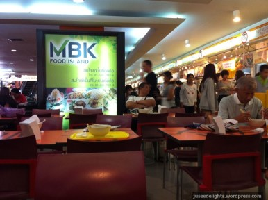 Interior; MBK Food Island, Bangkok