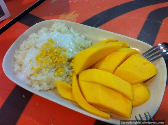 Mango Sticky Rice; MBK Food Island, Bangkok