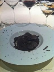 Perigord Black Truffle Risotto; 8 ½ Otto e Mezzo BOMBANA