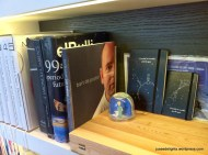 Office full of Le Petit Prince and award-winning cookbooks; Restaurant ANDRE