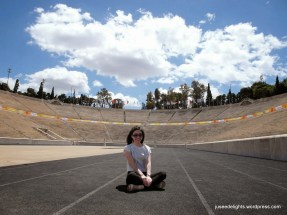 Me at Panathenaic Stadium