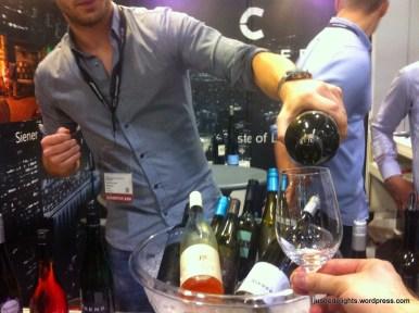 Tasting German wines; HKIWSF2014
