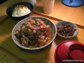Kansai Braised Beef Set; Uchi