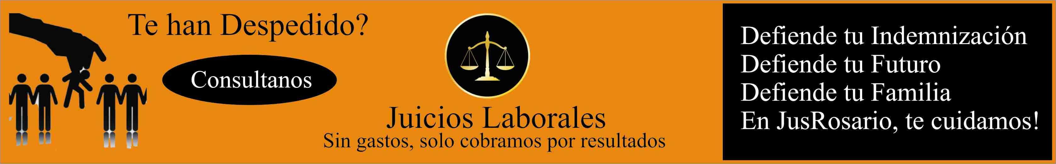 Abogados en Rosario, despidos, indemnizaciones